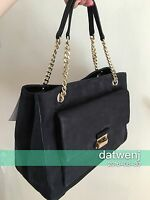 ❤️NWT Kate Spade Annaleigh Lafayette Avenue Suede BLACK Handbag WKRU3952 $399+