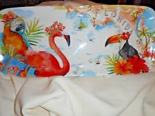 New Pretty Flamingo Platter Tray From Beal'S Retails For $19.99