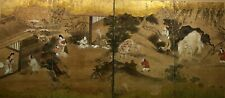 Antique Japanese screen painting. Kano school?