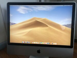 "Apple iMac 24"" Desktop Mid-2007 Intel Core 2 Duo 4GB RAM 1TB SATA MacOS Mojave"