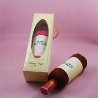 Wine Bottle Shape Bathroom Toilet Shower Towels & Sheets For Festival Gifts Shan