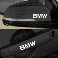 4x BMW Logo Premium Quality Door Handle / Mirror Decals Stickers M4 M3 X3 Alpina