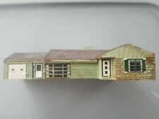 Casa de escala H0 para modelismo ferroviario