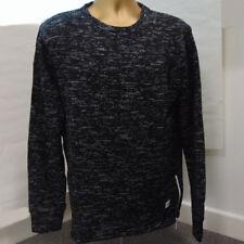 King Apparel Fleck Sweat shirt à moucheté noir taille M neuf