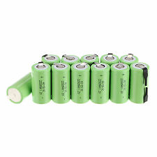 Lot 12 x Sub C SC 1.2V 2200mAh Ni-Cd NiCd Rechargeable Battery Batteries -Green