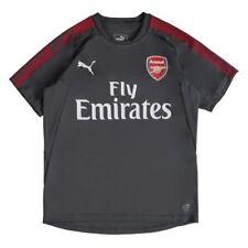 Solo maglia da calcio di squadre inglesi grigio manica corta