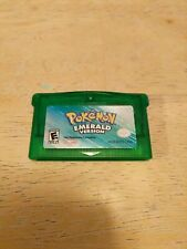 Pokemon Emerald Version Game Boy Advance *cartridge only* TESTED authentic