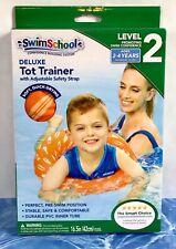 SwimSchool Deluxe TOT TRAINER Vest Durable PVC Inner Tube Ages 2-4 Years BX384