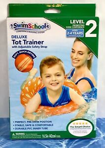 SwimSchool Deluxe TOT TRAINER Vest Durable PVC Inner Tube Ages 2-4 Years BX384