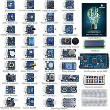 SunFounder New Mega 2560 + Ultimate Sensor Kit V2.0 for Arduino UNO R3 Nano