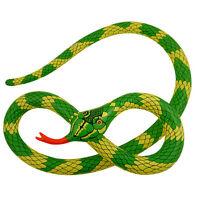 HUGE 230cm Inflatable Blow Up Green Snake Hawaiian Beach Jungle Party X99 140