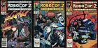 Robocop 2 Movie Comic full set 1-2-3 Lot Frank Miller Screenplay Mark Bagley art