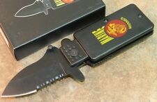 """Marine 6"""" Overall Assisted Open Pocket Knife - Lighter Style Lk1689-Ma"""