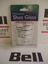 *New* Update Msg-15 Glass Measured Shot Glass - Free Shipping!