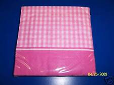 Baby Girl Shoes Pink Shower Party Beverage Napkins