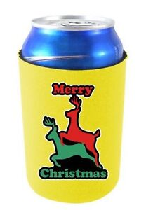 Coolie Junction Merry Christmas Reindeer Humping Funny Can Coolie, Neoprene