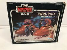 Vintage 1980 Kenner Star Wars ESB Twin Pod Cloud Car with Box/Insert  Nice Look