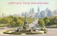 Postcard Greetings from Philadelphia