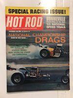 VINTAGE HOT ROD Magazine Drag Racing Hot Rods November 1963