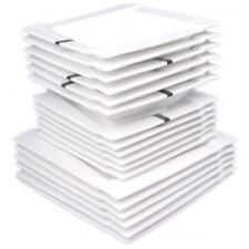 18 Pièces En Porcelaine De Table Cuisine Table Service À L'Assiet Céramique