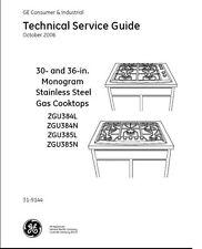 Repair Manual: GE Cooktops, Ranges, Ovens (Choice of 1 manual, see description)
