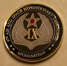9th Air/Space Expedtionary Task Force Afghanistan ACCE Air Force Challenge Coin