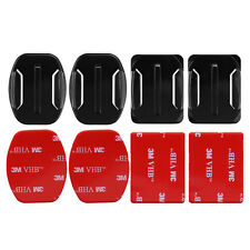 3M Adhesive Stickers Mount Curved Base Helmet for Gopro Hero 6 5 4 Sports Camera