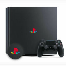 PlayStation 4 PS4 PRO Classic Retro Logo Color Decal Sticker Vinyl