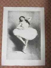 Paul Eugène Mesples - Danseuse - 2 Lithographies en couleur