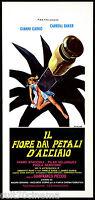 The Flower Dai Petals of Steel: Movie Garko Baker Thriller 1973 Playbill