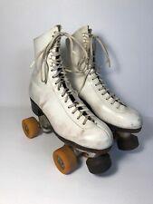 Women's Riedell Douglass Snyder Custom Built Super Deluxe Roller Skates Size 7