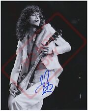 8.5x11 Autographed Signed RP Reprint Photo Jimmy Page Led Zepplin