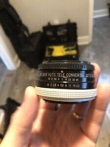 Soligor Tele Converter 2x Auto for Canon FD (Body) to Canon EF (Lens)
