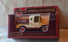 New Original MATCHBOX Yesteryear 1912 FORD TANKER T Y-3 White Scale 1:35 England