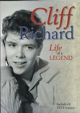"JOHN STANLEY -""CLIFF RICHARD - LIFE OF A LEGEND"" WITH  SIX FREE POSTCARDS (2012)"
