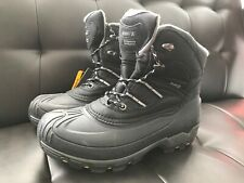 Kamik Men's Warrior2 Snow Boot Black 9 M US Cold Weather -40F Thinsulate