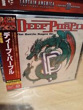 DEEP PURPLE ~ THE BATTLE RAGES ON LIMITED LEGEND 1000 SERIES [CD] NEW & SEALED