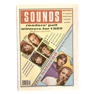 Sounds 13 January 1990 - The Beloved,Stone Roses,Die Warzau,White Lion,Inspiral