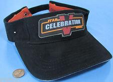 VISOR HAT / CAP '10 Star Wars CELEBRATION V Orlando FL convention ADJUSTABLE