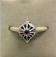 Chamilia Jewelry Glorious Siam Swarovski Crystal Charm Sterling Silver Bead