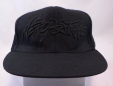 Authentic Aeropostale 1987 Cap Small Black Stretch Fit Wool Blend Nu-Fit Hat