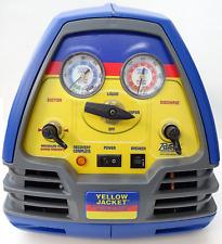 Yellow Jacket 95760 Refrigerant Recovery Machine 12 Hp 115v