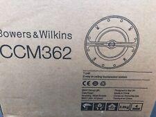 Bowers & Wilkins CCM 362 speakers (pair)
