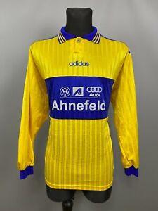 FC EINTRACHT SCHWERIN 1990's HOME SHIRT FOOTBALL SOCCER ADIDAS JERSEY SIZE XL
