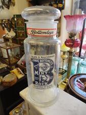 More details for superb  vintage sweet jar  with original label