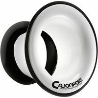 KickPort CP1-WH CajonPort Sound Enhancement Cajon Port Insert, White CP1WH
