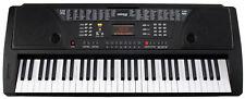 B-WARE 61-TASTEN KEYBOARD E-PIANO LERNFUNKTION 100 SOUNDS & RHYTHMEN BLACK
