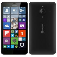 New Nokia Microsoft Lumia 640 Black 8GB 4G LTE GPS Windows Unlocked Smartphone