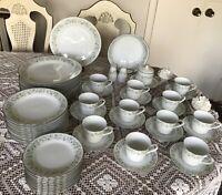 NORITAKE china -WYNWOOD 6879 pattern -  Dinnerware Set -70 pieces - Very Nice