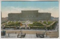 Lancashire postcard - St Georges Hall, Liverpool - RP
